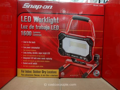 snap on led worklight
