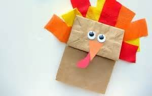Brown Paper Bag Turkey Craft - top 10 make a turkey craft paper bag plate