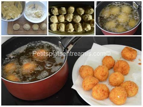 Croquette De Mozzarella by Croquettes De Pommes De Terre Et Mozzarella Petits Plats