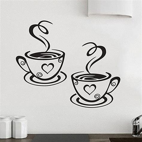 b q wall stickers popular coffee stickers buy cheap coffee stickers lots