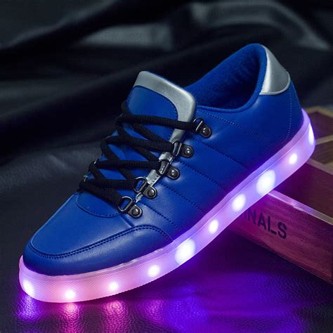 glow in the shoes led luminous shoes casual light up glow in the