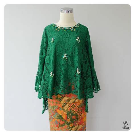 Baju Muslim Brokat Kebaya 22 model kebaya modern brokat modern lengkap 2018 contoh