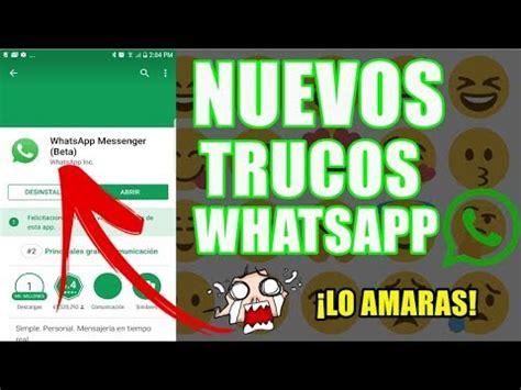 tutorial trucos whatsapp trucos para whatsapp los mejores que debes tener ya