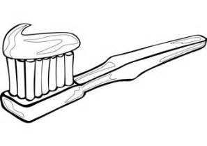 Baby Toothbrush Colouring Pages sketch template