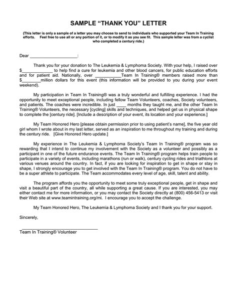 Thank You Letter For Media Thank You Letter In Word And Pdf Formats