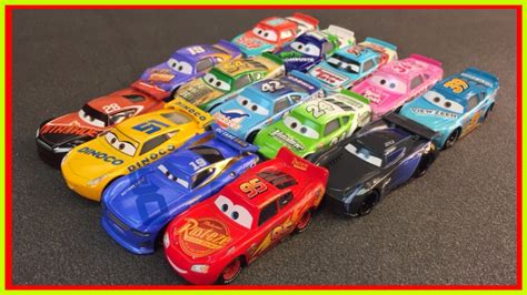 complete disney cars 3 toys diecast all 14 racers jackson
