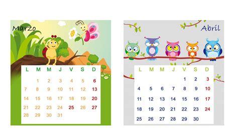 Calendario De Marzo Calendario De Mesa 2016 Enero Y Febrero