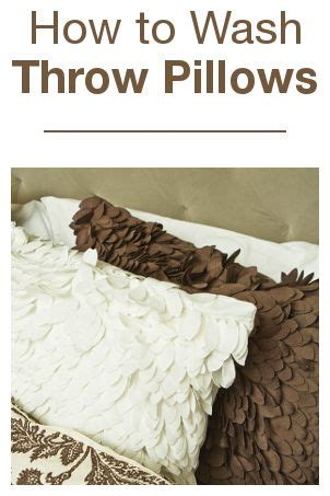 Best Way To Clean Pillows by 17 Best Ideas About Wash Pillows On Wash