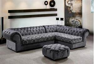 Gray Sectional Sofa Grey Micro Fiber Sectional Sofa Ottoman Sectionals