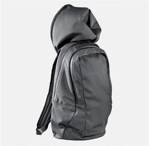Hodie Backpacker hoodie backpack by hussein chalayan x kidrobot