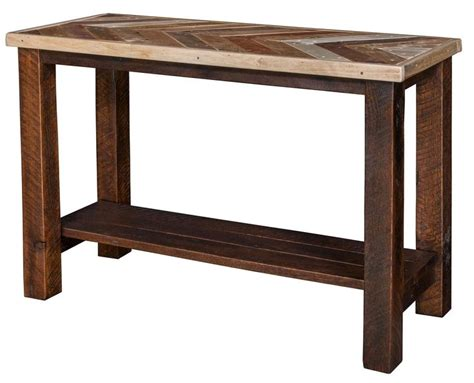 amish narrow sofa table 48 best amish sofa and console tables images on