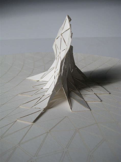 design concept model field rupture veev design archdaily