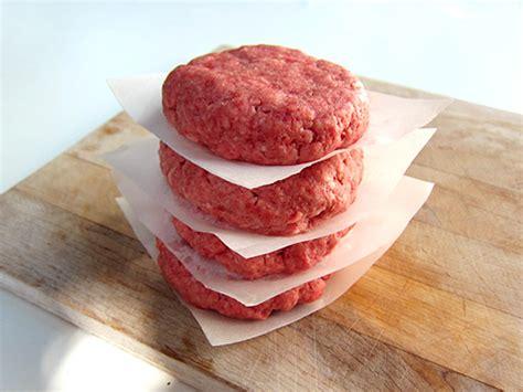 Beef Burger Patties Premium ground beef burgers