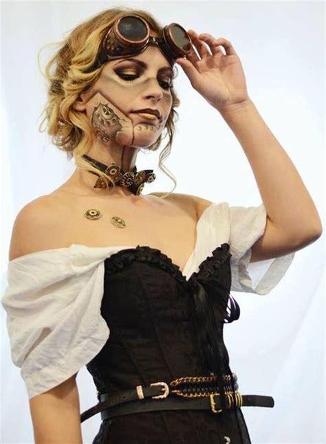 steampunk makeup guide special fx robot gears