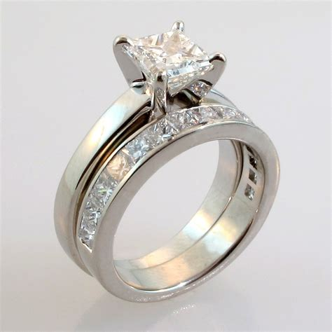 Engagement Ring Wedding Sets engagement and wedding ring sets weneedfun