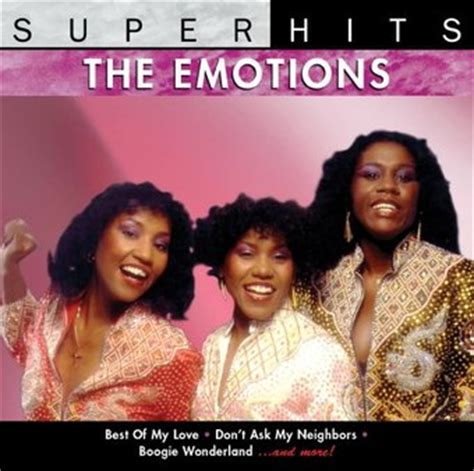 best of emotions the emotions hits cd 2002 sbme special mkts