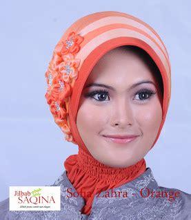 Zahra Bergo Pink pernak pernik jilbab pesta instan nan cantik dan modis