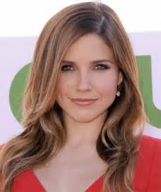 best hairstyle for pale oblong with hazel sophia bush hairstyles for 2017 celebrity hairstyles by