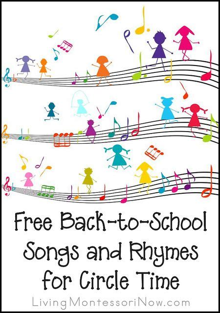 new year songs and fingerplays free back to school songs and rhymes for circle time