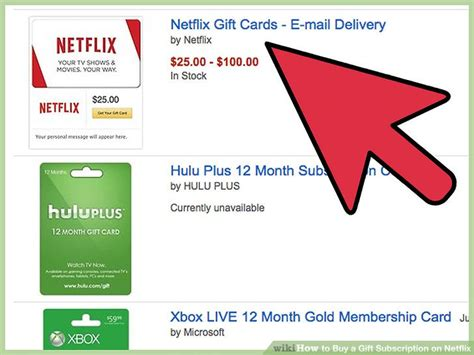 Netflix Gift Card Email Delivery - how to buy a gift subscription on netflix with pictures