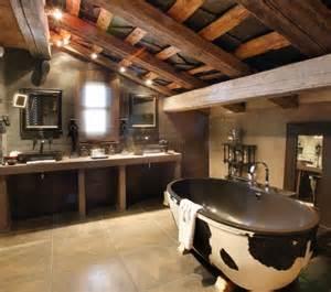 5 ultra rustic bathrooms