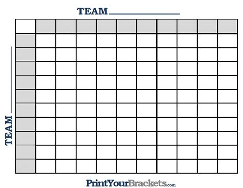 Free Football Square Template by Football Squares Template Peerpex