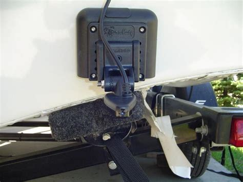 installing depth finder on fiberglass boat sternmate transducer mounting system high speed adhesive