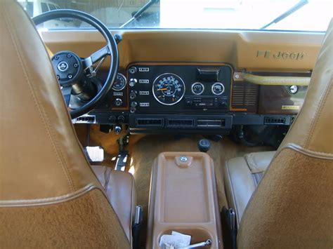 Cj Upholstery by 1983 Jeep Cj7 Interior Pictures To Pin On