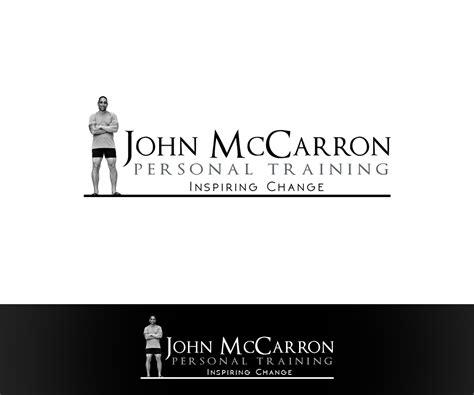 designcrowd white label bold serious logo design for john mc carron by annie