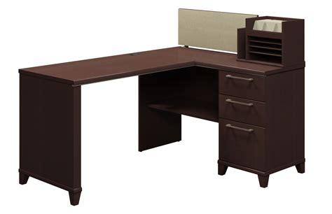60 Inch Computer Desk by Enterprise Mocha Cherry 60 Inch Corner Desk From Bush