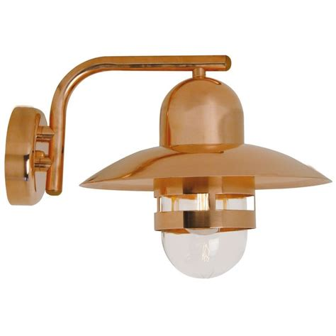 Nordlux Nibe E27 Outdoor Wall Light Copper Outdoor Copper Lighting