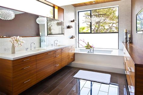 Mid Century Modern Bathroom Midcentury Modern Bathroom Photos Hgtv