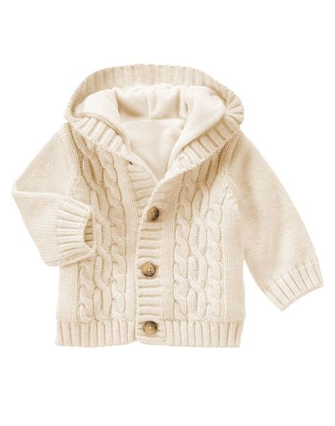 cable knit newborn hooded cable knit cardigan more cable knit cardigan