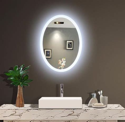 backlit mirrors for bathrooms backlit wall mirrors