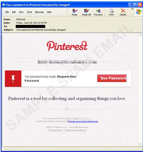 reset sbh online password fake pinterest quot password changed quot email leads to malware