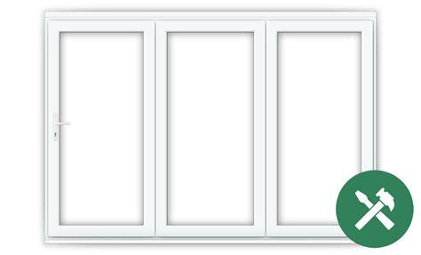Custom Size Bifold Doors by Custom Size White Upvc Bifold Folding Doors Flying Doors