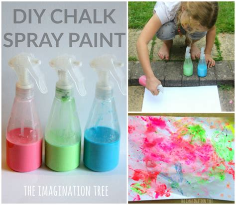 diy chalk paint in a sprayer and craft archives the imagination tree