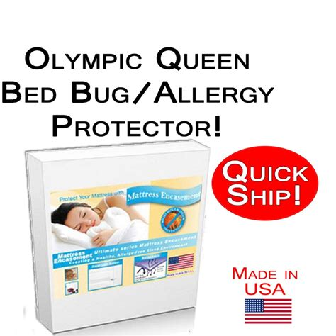 orkin bed bug protection pillow encasement king size set quick ship olympic queen size allergy and bed bug