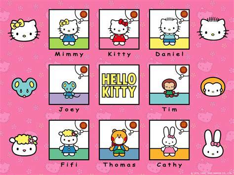 hello kitty character wallpaper sanrio sanrio wallpaper 2359140 fanpop