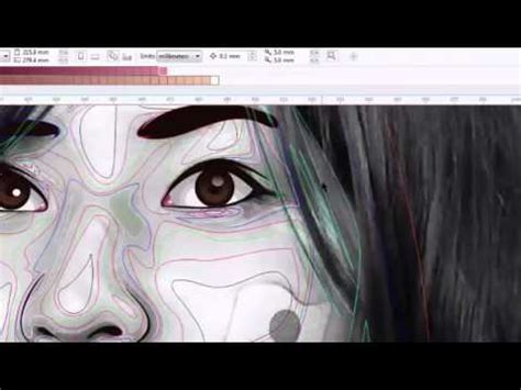 tutorial vektor vexcel vector vexel tutorial eye alpha mask w line art doovi