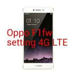 Hp Oppo F1fw cara setting jaringan 4g oppo f1 android dunia android