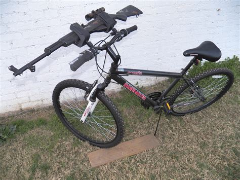 who said you can t a gun rack on your bike sure