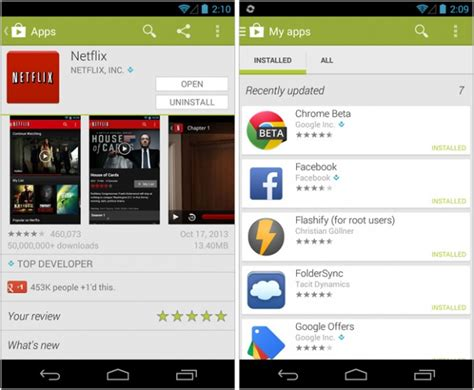 gmail apps for android play store 4 4 21 available for