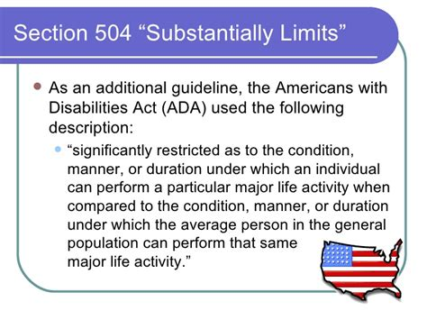 americans with disabilities act section 504 introduction to section 504 09 08