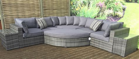buy durable grey rattan garden furniture of your house