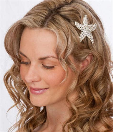 hairstyle ideas for the beach beach wedding hair ideas