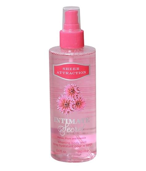 Secret Sheer Mist New Parfum Original Wanita 1 intimate secret sheer attraction mist 250ml buy at best prices in india snapdeal