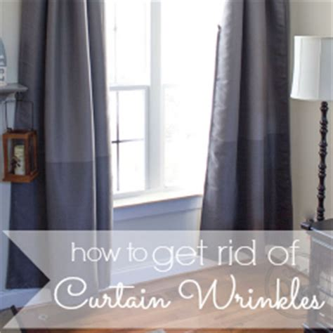how to get wrinkles out of new curtains how to get rid of wrinkles in curtains without an iron