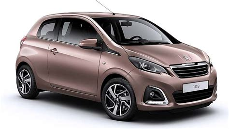 peugeot car cost peugeot 108 to cost from 163 8 245 motoring research