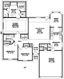 Single Story Floor Plans by One Story House Floor Plans One Floor House Plans With